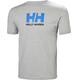 Helly Hansen Logo T-Shirt Men Grey Melange